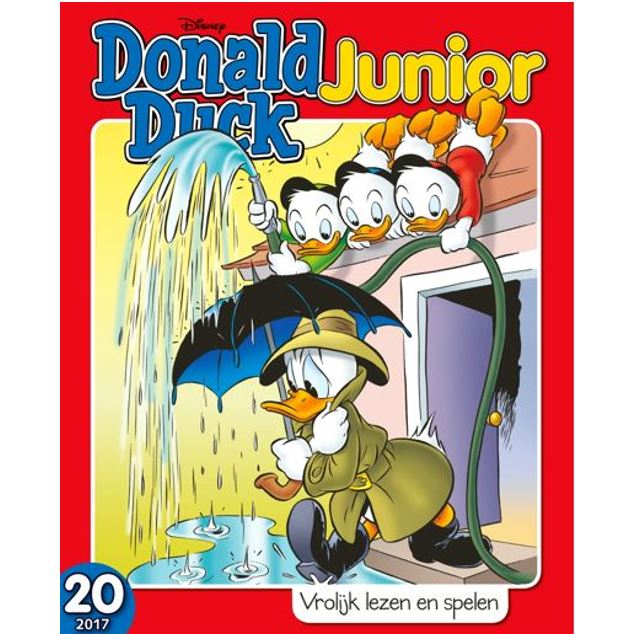 Abonnement op het tijdschrift donald duck junior for Abonnement donald duck junior