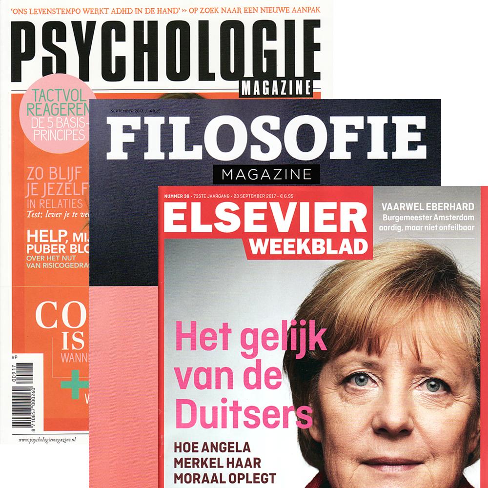 Abonnement op tijdschrift elsevier weekblad psychologie for Abonnement psychologie magazine