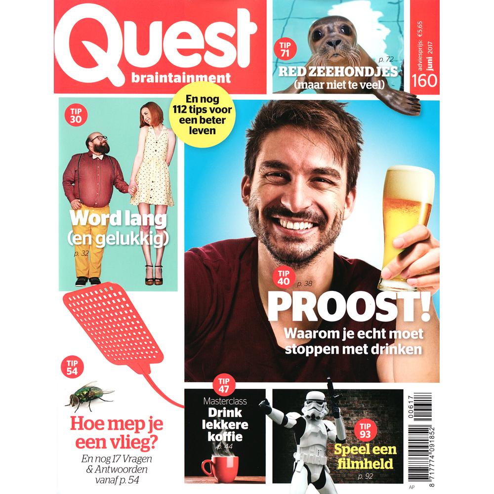 abonnement op het tijdschrift quest