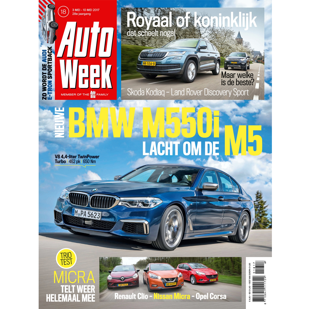 abonnement op het tijdschrift autoweek
