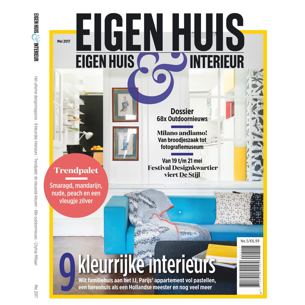 abonnement op het tijdschrift eigen huis interieur