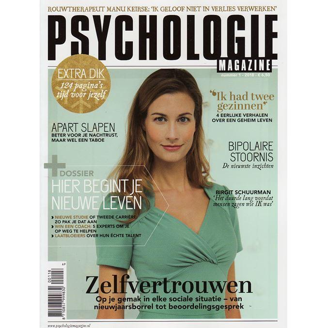 Abonnement Op Het Tijdschrift Psychologie Magazine
