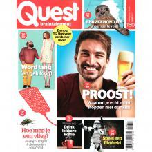 Tijdschriften de 96 leukste tijdschriften vind je hier for Abonnement quest