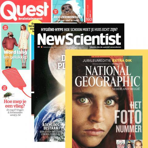 Abonnement op tijdschrift quest national geographic en for Abonnement quest